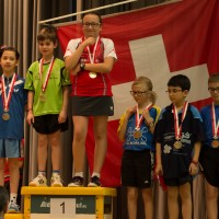 Nina - Podium mixte U11 2