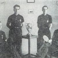 1935 Equipe vainqueur Coupe Suisse Albert et Gaston Aubry, Albert Lamarche et Paul Huguenin.jpg